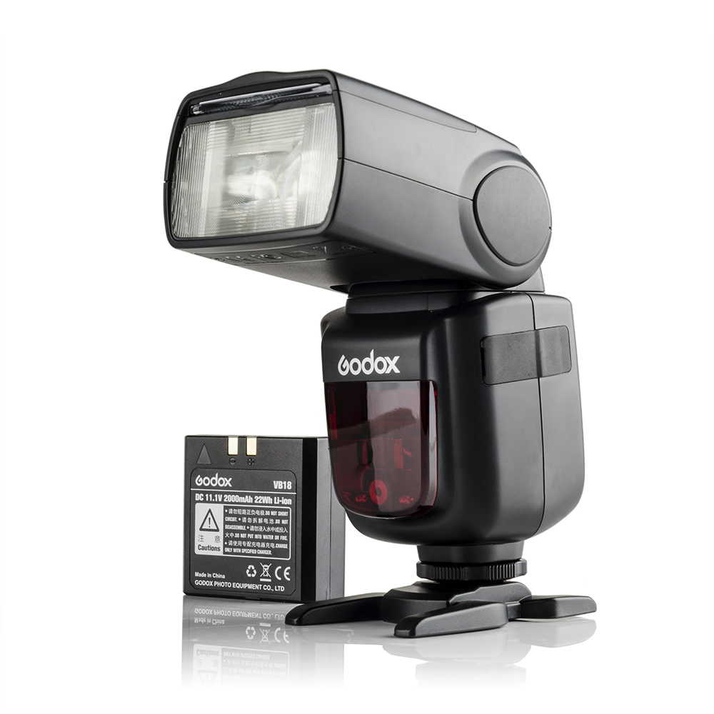 Godox-V860II-S-GN60-TTL-HSS-1-8000s-Speedlite-Camera-Flash-Light-w-Li-ion-Battery