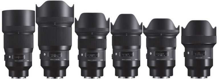 Sigma-DG-HSM-ART-full-frame-mirrorless-lenses-for-Sony-E-mount-768x279